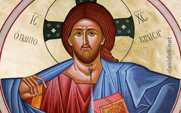 Jezus - freska